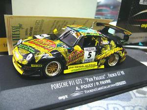 【送料無料】模型車 モデルカー スポーツカー ポルシェグアテマラフランスペールファーブル#porsche 911 993 gt2 french gt 1998 pain pailasse pouly favre 5 vitesse 143