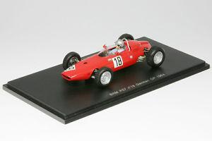 【送料無料】模型車 モデルカー スポーツカー フォーミュラグランプリドイツスパークbrm p57 giancarlo baghetti formel 1 gp deutschland 1964 143 spark 1153