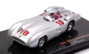 【送料無料】模型車 モデルカー スポーツカー メルセデス#モンツァモデルmercedes w196 r streamliner 18 winner monza 1955 jm fangio 143 model gtm122