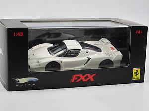 【送料無料】模型車 モデルカー スポーツカー マテルホットホイールエリートフェラーリmattel hot wheels elite n5610, 2005 ferrari fxx white, 143 ovp