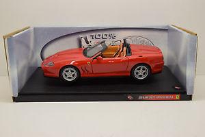 【送料無料】模型車 モデルカー スポーツカー フェラーリバルケッタピニンファリーナferrari 550 barchetta pininfarina hotwheels 118 neuve en boite