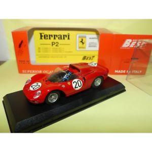 【送料無料】模型車 モデルカー スポーツカー フェラーリルマンベストアブドferrari 330 p2 n20 le mans 1965 1965 best 9140 143 abd