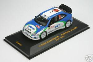 【送料無料】模型車 モデルカー スポーツカー ラムシトロエンクサララリーモンテカルロ143 ram 175 citroen xsara wrc stohl rallye monte c 05