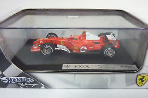 【送料無料】模型車 モデルカー スポーツカー ホットホイールフェラーリミハエルシューマッハ#hot wheels 143 g9731 f1 ferrari f2005 mschumacher 1 in ovp a1348