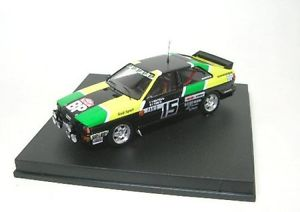【送料無料】模型車 モデルカー スポーツカー アウディラリーモンテカルロaudi  ouattro   15  rally  monte  carlo  1981
