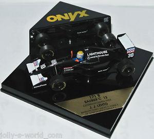 【送料無料】模型車 モデルカー スポーツカー オニキスフォーミュラ#ザウバードイツonyx 1993 formel 1 30 sauber c12 german gp jj lehto 143