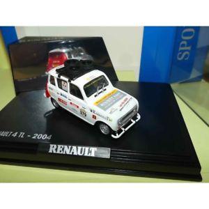 【送料無料】模型車 モデルカー スポーツカー ルノーラリートロフィーrenault 4 tl rallye 4l trophy 2004 norev 143