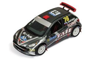 【送料無料】模型車 モデルカー スポーツカー プジョー#ラリーフィンランドネットワークpeugeot 207 s2000 78shaymievkafarov rallye finland 2009 ixo 143 ram394