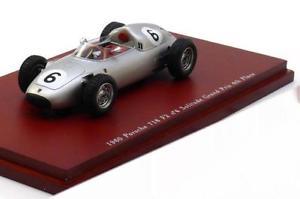 【送料無料】模型車 モデルカー スポーツカー スケールポルシェ#ヒル143 true scale porsche 718 f2 6 gp solitude 1960 hill