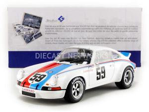 【送料無料】模型車 モデルカー スポーツカー ポルシェデイトナsolido 118 porsche 911 rsr 24h de daytona 1973 1801103