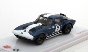 【送料無料】模型車 モデルカー スポーツカー スケールシボレーコルベットグランドスポーツ#セブリング143 true scale chevrolet corvette grand sport 2, 12h sebring 1964