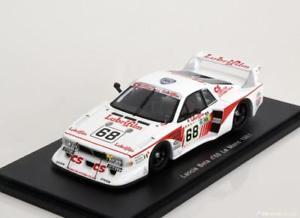 【送料無料】模型車 モデルカー スポーツカー スパークランチアベータモンテカルロターボ#ルマン143 spark lancia beta montecarlo turbo 68, 24h le mans 1981