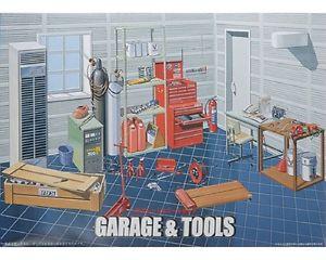 【送料無料】模型車 モデルカー スポーツカー ガレージツールスカラタラfujimi garage amp; tools scala 124 cod11118