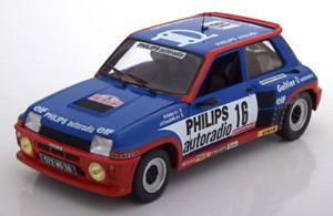 【送料無料】模型車 モデルカー スポーツカー ルノーターボ#サビー118 solido renault r5 turbo grb 16, tdc sabyfauchille 1984