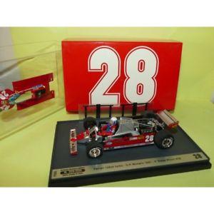 【送料無料】模型車 モデルカー スポーツカー フェラーリグランプリドモナコハムferrari 126 gp de monaco 1981 d pironi brumm p005 143