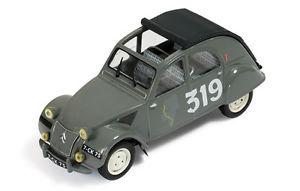 【送料無料】模型車 モデルカー スポーツカー #ラリーモンテカルロネットワークcitron 2cv 319 bernierduvey rally monte carlo 1954 ixo 143 rac214