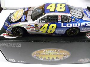 【送料無料】模型車 モデルカー スポーツカー ジミージョンソンレースダイカストjimmie johnson 2004 lowes atlanta race win memorial nascar diecast
