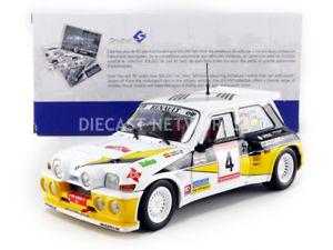 【送料無料】模型車 モデルカー スポーツカー ルノーマキシターボラリーデアストゥリアスsolido 118 renault 5 maxi turbo rallye de asturias 1986 1850014