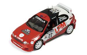 【送料無料】模型車 モデルカー スポーツカー #トヨタカローラフィンランドラリーネットワークtoyota corolla wrc 22 anttilatuohino rally finland 2000 ixo 143 rac145