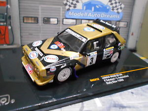 【送料無料】模型車 モデルカー スポーツカー ランチアデルタラリーエルバネットワークエッソ#lancia delta s4 rallye gr b elba 1988 esso 3 tabaton rar ixo 143