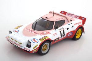 【送料無料】模型車 モデルカー スポーツカー ランチア#ラリーモンテカルロガリ118 solido lancia stratos 14, rally monte carlo 1977 dacremontgalli