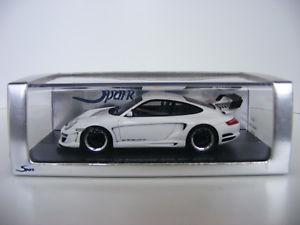 【送料無料】模型車 モデルカー スポーツカー スパークポルシェグアテマラホワイトアプライアンス143 spark porsche gemballa avalance gt2 650 evor weiss s0719 neu ovp