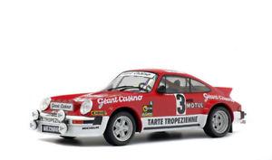 【送料無料】模型車 モデルカー スポーツカー ポルシェラリー#solido 421184500 118 porsche 911 sc gr4 rallye d´armor 3 neu