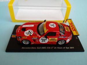 【送料無料】模型車 モデルカー スポーツカー メルセデスベンツ#スパスパーク143 mercedes benz sls amg 35 24h spa 2011 spark
