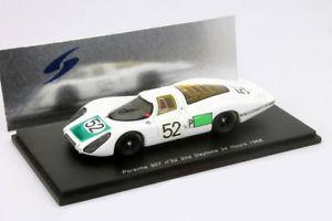 【送料無料】模型車 モデルカー スポーツカー ポルシェ#デイトナporsche 907 52 2 platz 24h daytona 1968 siffert, herrmann 143 spark