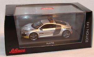 【送料無料】模型車 モデルカー スポーツカー モデルアウディセーフティカーボックスschuco 143 metallmodell 04788 audi r8 saftey car dtm 2008 neu in ovp