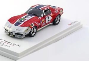 【送料無料】模型車 モデルカー スポーツカー スケールシボレーコルベット#ルマン143 true scale chevrolet corvette zl1 4, le mans 1972