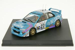 【送料無料】模型車 モデルカー スポーツカー ポルトガルインプレッサラリードメビウス143 subaru impreza wrc de mevius rallye portugal 1998 trofeu 1109