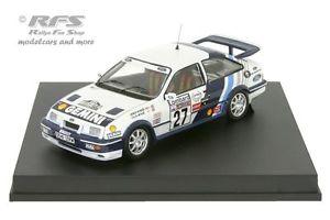 【送料無料】模型車 モデルカー スポーツカー フォードシエラコスワースコリンマクレーラリーford sierra rs cosworth rac rallye 1989 colin mcrae 143 trofeu 0118