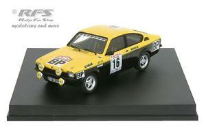 【送料無料】模型車 モデルカー スポーツカー オペルツールドコルスopel kadett gte tour de corse 1975 greder 143 trofeu tr 2109