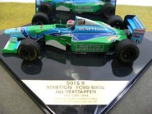 【送料無料】模型車 モデルカー スポーツカー オニキスベネトンフォードテストカー124 onyx benetton ford b193b jos verstappen test car 1994