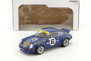 【送料無料】模型車 モデルカー スポーツカー ポルシェカレラ#デイトナporsche 911 carrera rsr 6 24h daytona 1973 donohue, follmer 118 solido