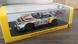 【送料無料】模型車 モデルカー スポーツカー スパークグアテマラ#スパ143 spark sb054 bmw z4 gt3 4 24h spa 2013