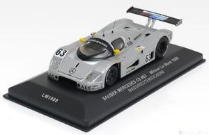 【送料無料】模型車 モデルカー スポーツカー ネットワークメルセデスザウバールマン143 ixo mercedes sauber c9 winner le mans 1989