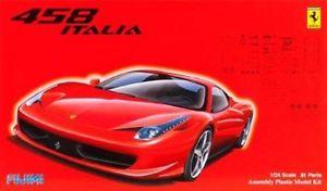 【送料無料】模型車 モデルカー スポーツカー フェラーリイタリアスカラタラfujimi ferrari 458 italia scala 124 cod12382