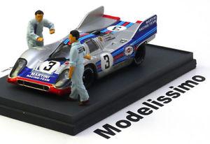 【送料無料】模型車 モデルカー スポーツカー ハムポルシェ#モンツァマルティーニ143 brumm porsche 917k 3, monza elfordlarousse 1971 martini