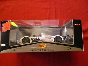 【送料無料】模型車 モデルカー スポーツカー maisto 56062 118 bmw v12 lmr 1999 neu ovp