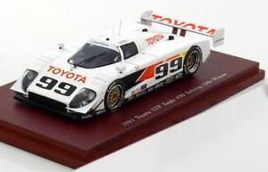 【送料無料】模型車 モデルカー スポーツカー トヨタイーグルセブリングウォレス143 true scale toyota gtp eagle winner sebring wallacefangio 1993