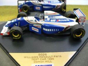【送料無料】模型車 モデルカー スポーツカー オニキスウィリアムズルノーデイモンヒル124 onyx williams renault fw16 damon hill testcar 1995