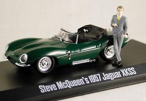 人気絶頂 【送料無料】模型車 モデルカー スポーツカー スティーブマックィーンジャガーsteve mcqueens 1957 jaguar xkss 143 greenlight limited edition gl86434, 宝蔵ギフト 7526192d