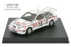 【送料無料】模型車 モデルカー スポーツカー フォードシエラコスワースモンテカルロラリーハゼford sierra rs cosworth rallye monte carlo 1987 grundel 143 trofeu 0120