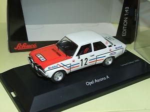 【送料無料】模型車 モデルカー スポーツカー オペルアスコナラリーレースopel ascona a rallye rac 1972 greder racing schuco