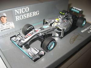【送料無料】模型車 モデルカー スポーツカー フォーミュラメルセデスロズベルグformel 1 2010 mercedes gp nrosberg 143 pma neu amp; ovp