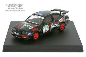 【送料無料】模型車 モデルカー スポーツカー フォードシエラコスワースポルトガルラリーサントスford sierra rs cosworth rallye portugal 1990 santos 143 trofeu 0114
