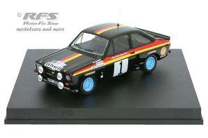【送料無料】模型車 モデルカー スポーツカー フォードエスコートターマックラリーバタネンマデイラford escort rs 1800 tarmac rallye madeira 1978 vatanen  143 trofeu 2505