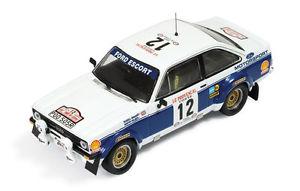 【送料無料】模型車 モデルカー スポーツカー フォードエスコート#ブルックスホームズツールドコルスford escort rs1800 mkii 12 brookesholmes tour de corse 1977 143 rac138